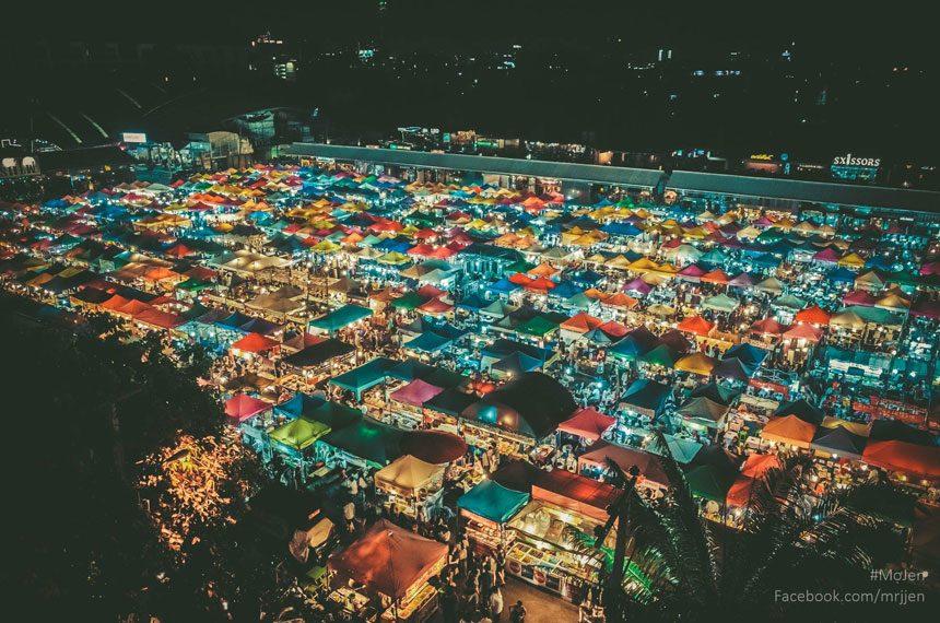 Shop at night markets