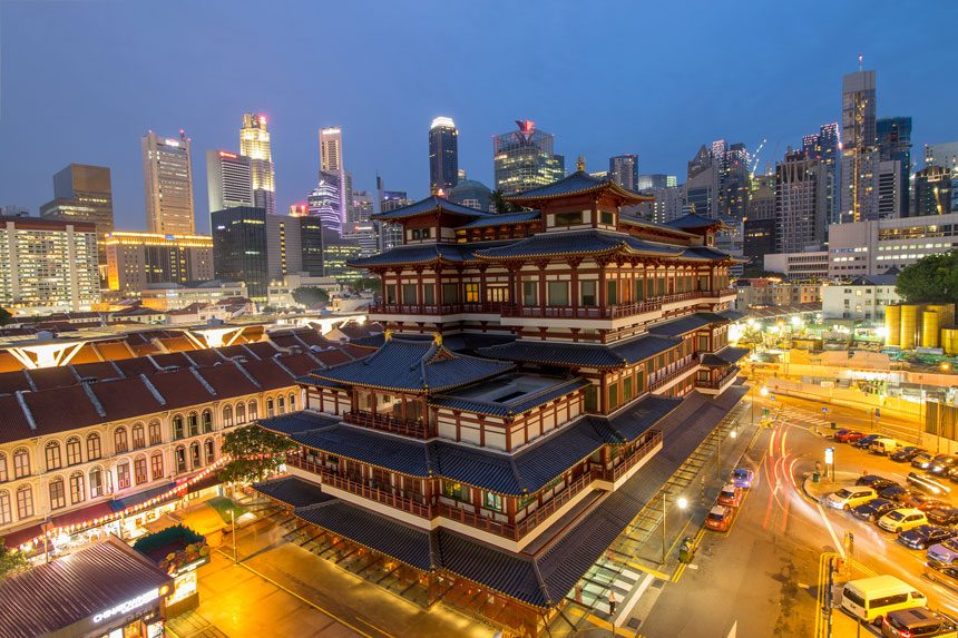Soak up Chinese culture in Chinatown